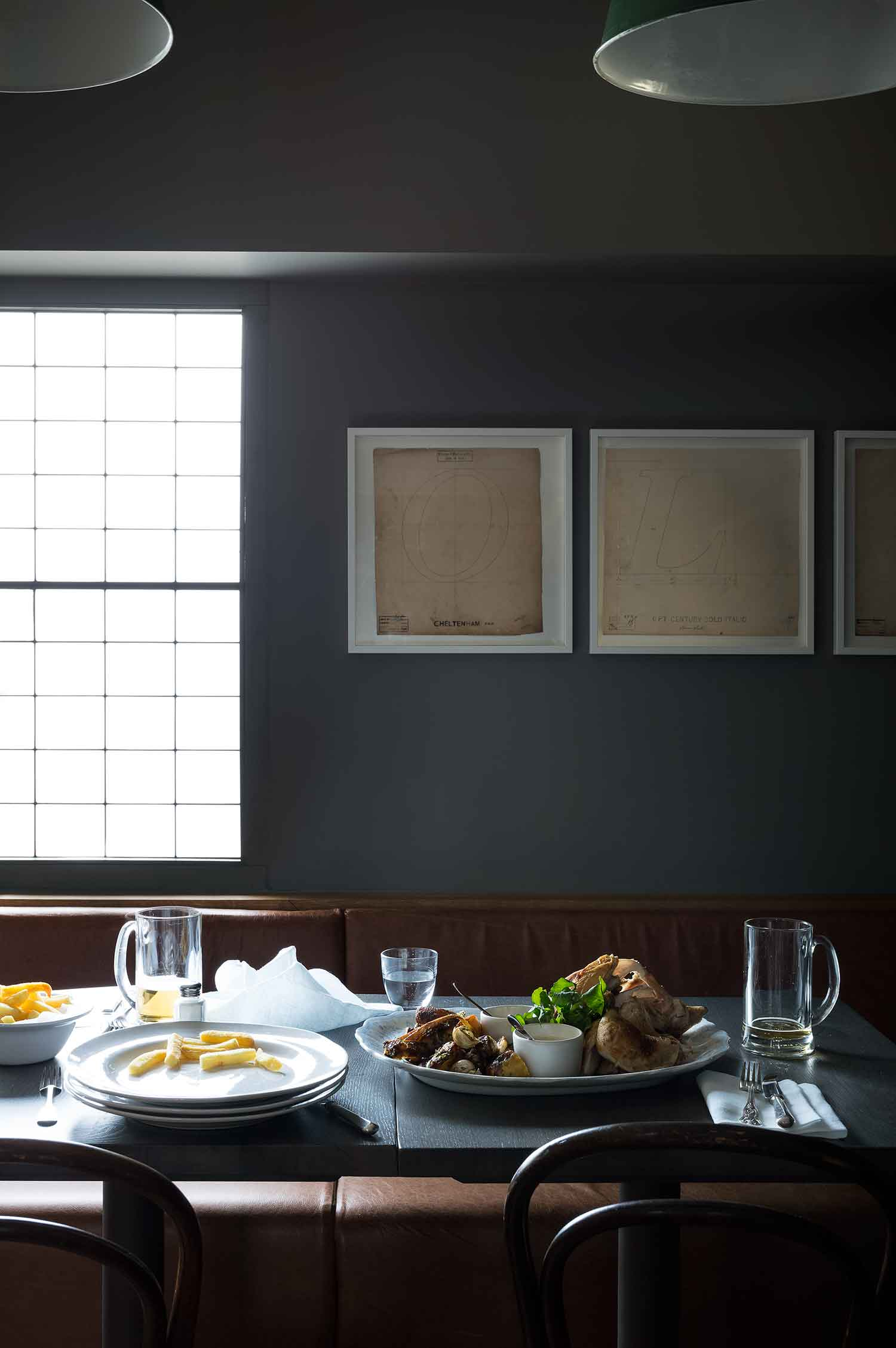 Olympic Studios Back Dinning by Simone McEwan | Yellowtrace