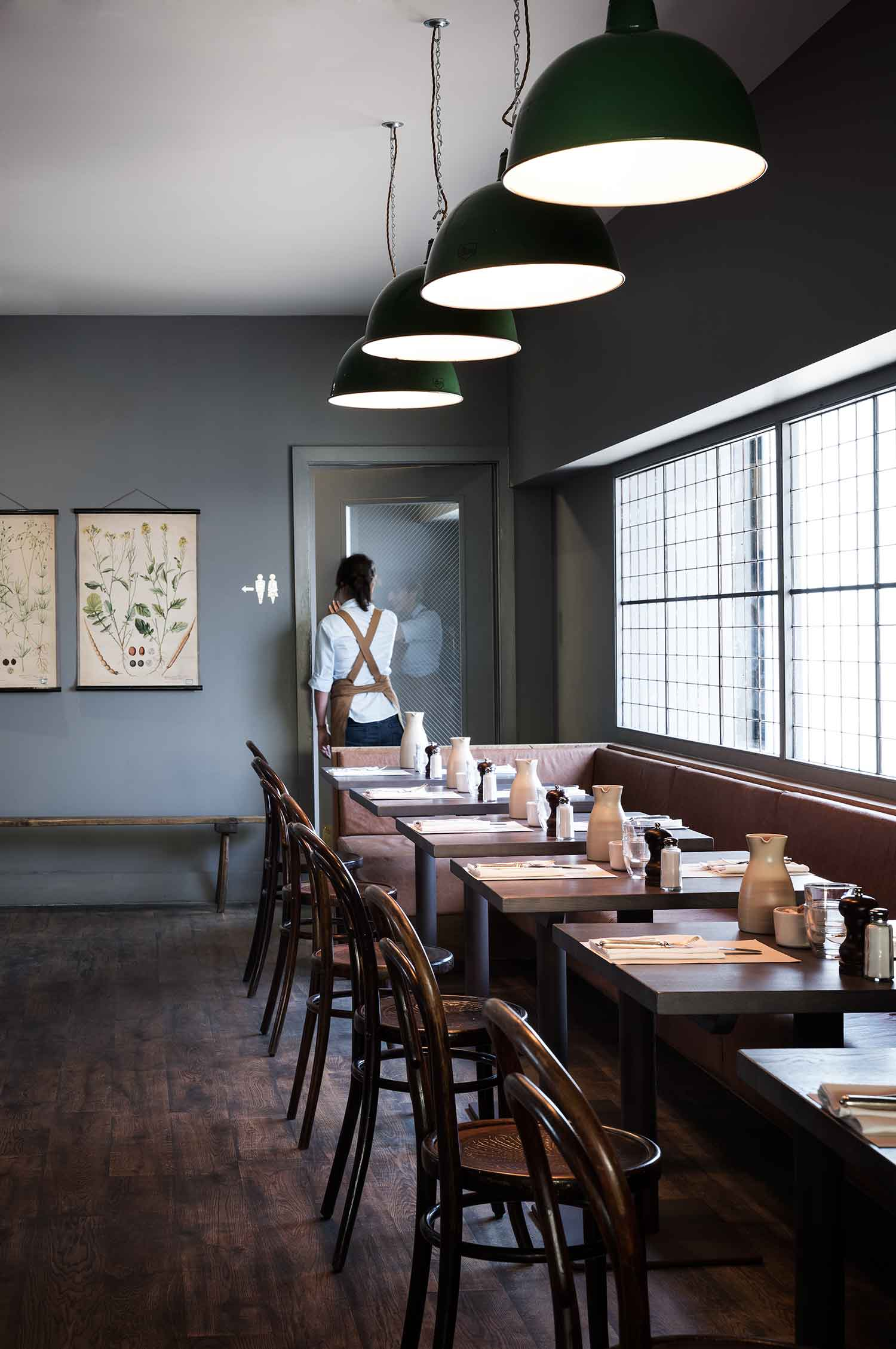 Olympic Studios Back Dinning Room by Simone McEwan | Yellowtrace