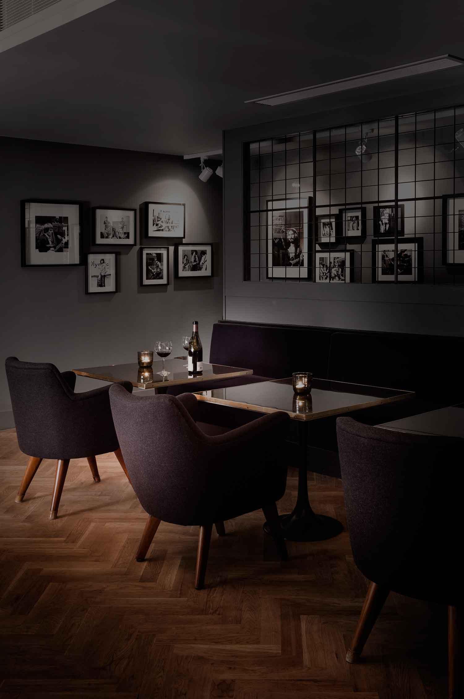 Olympic Studios Members Back Bar by Simone McEwan   Yellowtrace