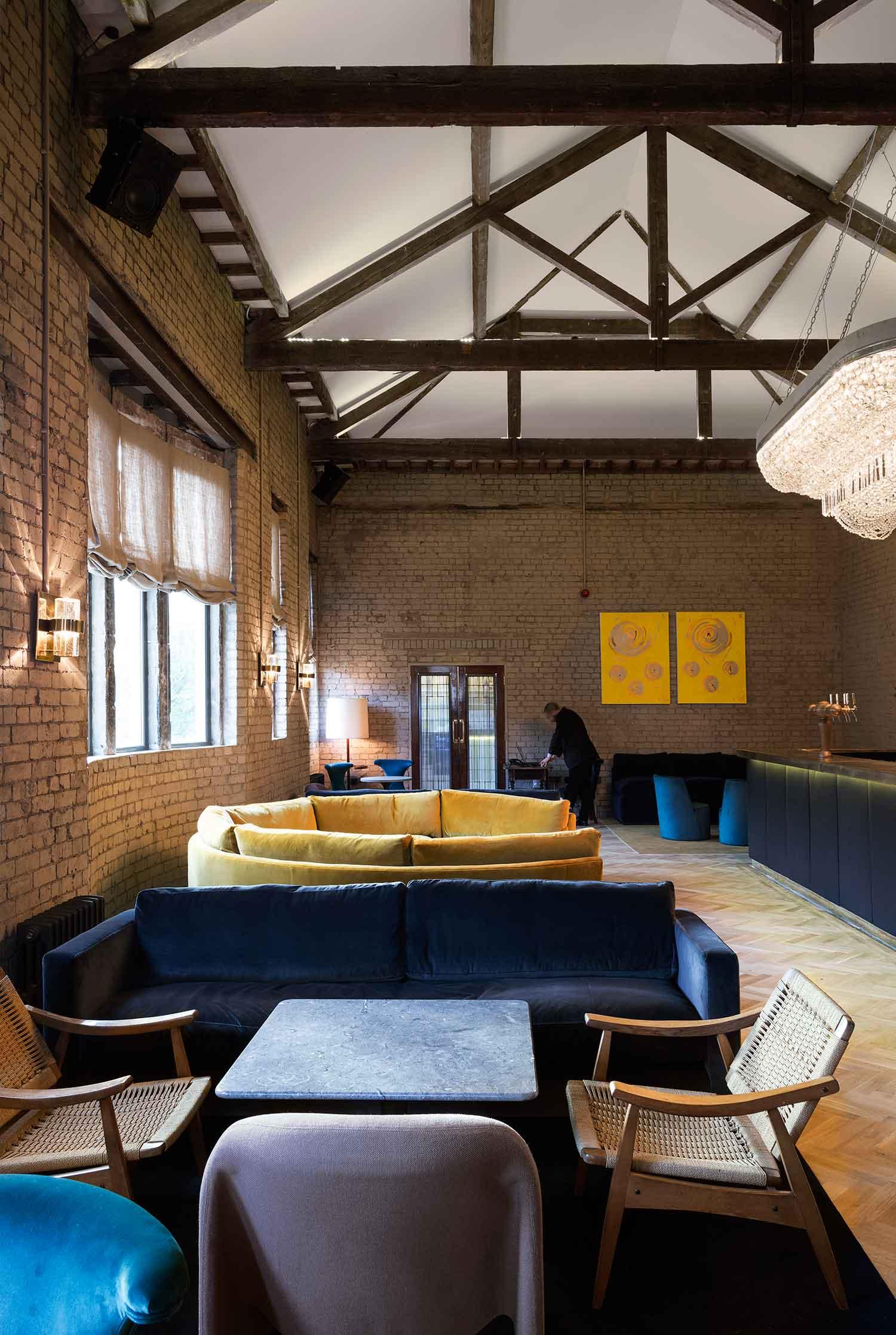 Olympic Studios Members Bar by Simone McEwan   Yellowtrace