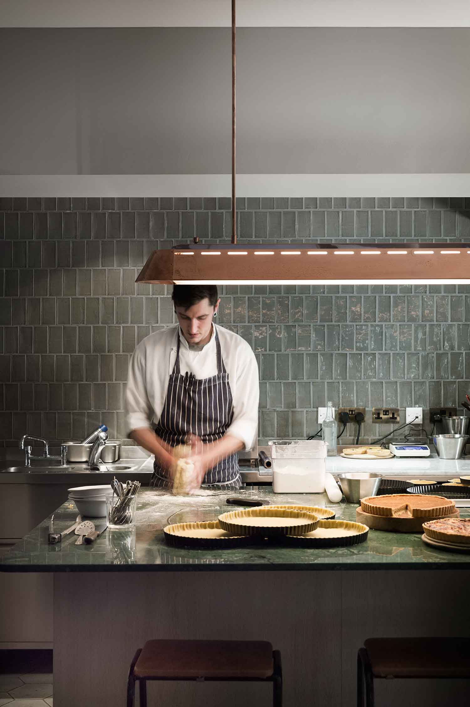 Olympic Studios Pastry Bar by Simone McEwan | Yellowtrace