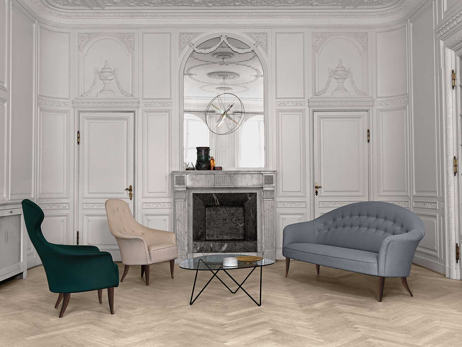 Paradiset Collection re-introduced by Gubi at Maison et Objet 2014 | Yellowtrace