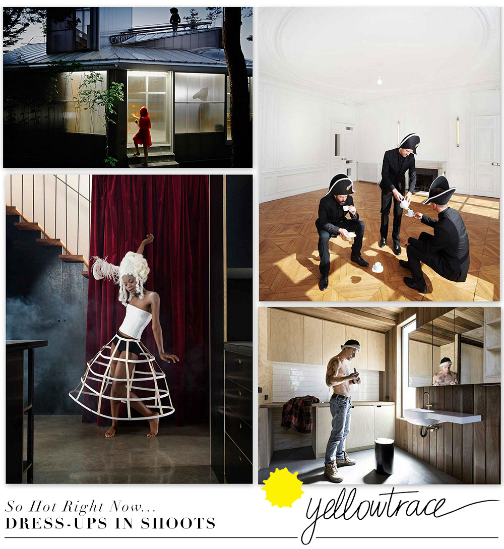 Playing Dress Ups In Architecture Shoots | Yellowtrace