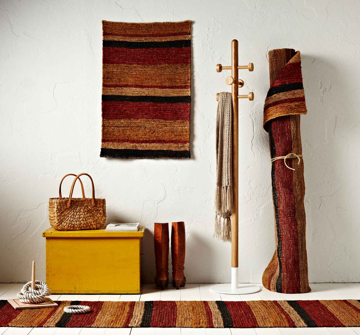 Red Desert Rug by WorldWeave | Yellowtrace