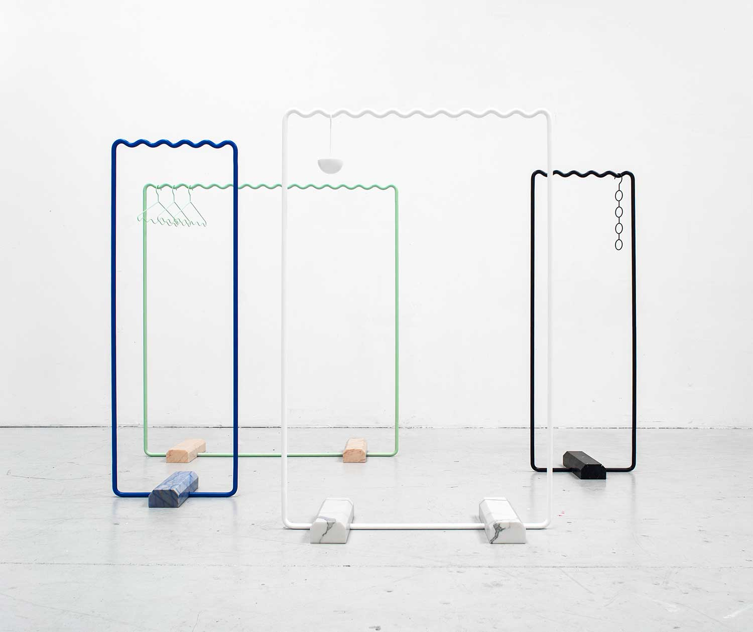 SINE Collection Coatstand, Stockholm Furniture Fair 2014 | Yellowtrace