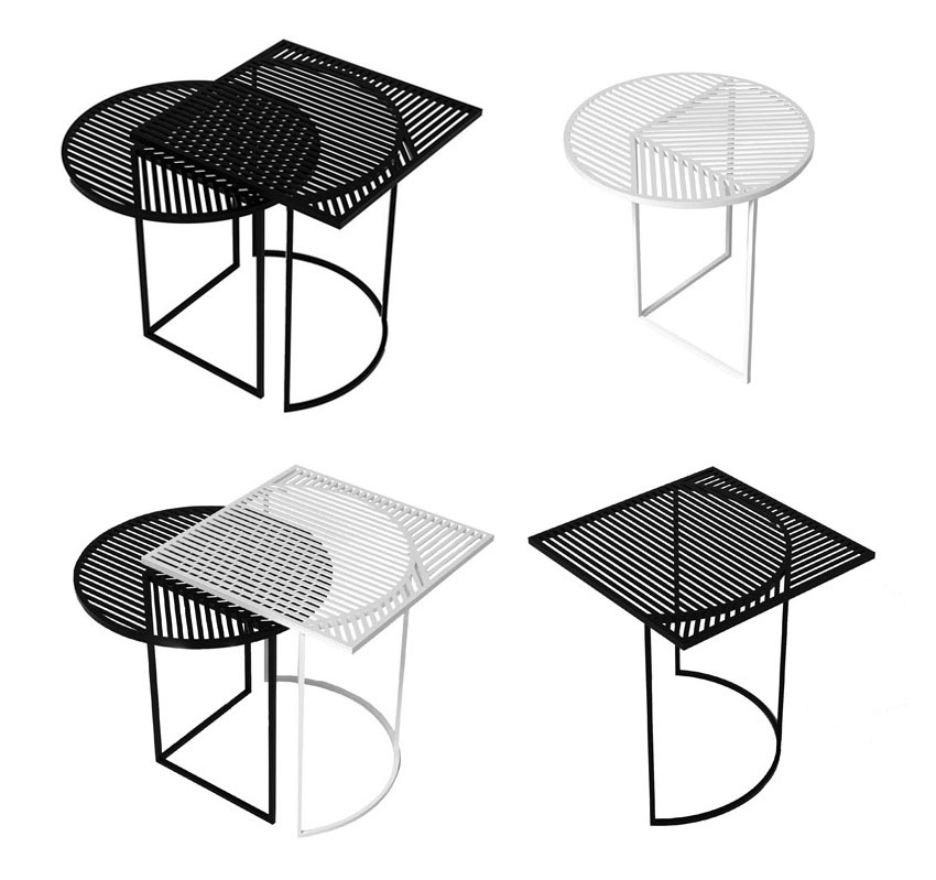 ISO A & B tables by POOL in collaboration with Petite Friture | Yellowtrace