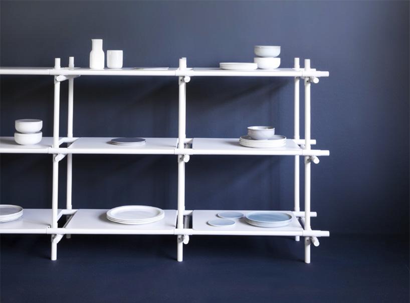 Stavebnice Shelf by Jan Plechac & Henry Wielgus for Menu | Yellowtrace