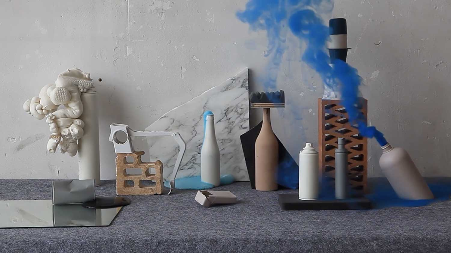 Still Life Styling Comes To Life: Vida Liquida by Las Coleccionistas | Yellowtrace