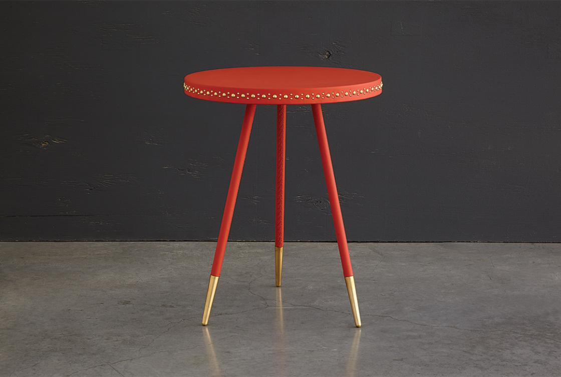 Stud side table by Bethan Gray| Yellowtrace