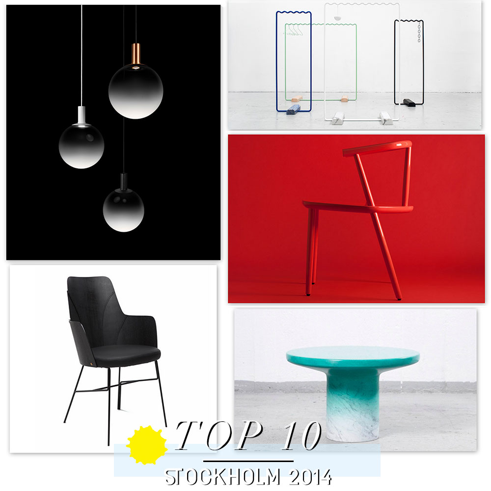 Stockholm Furniture Fair 2014 // Top 10.