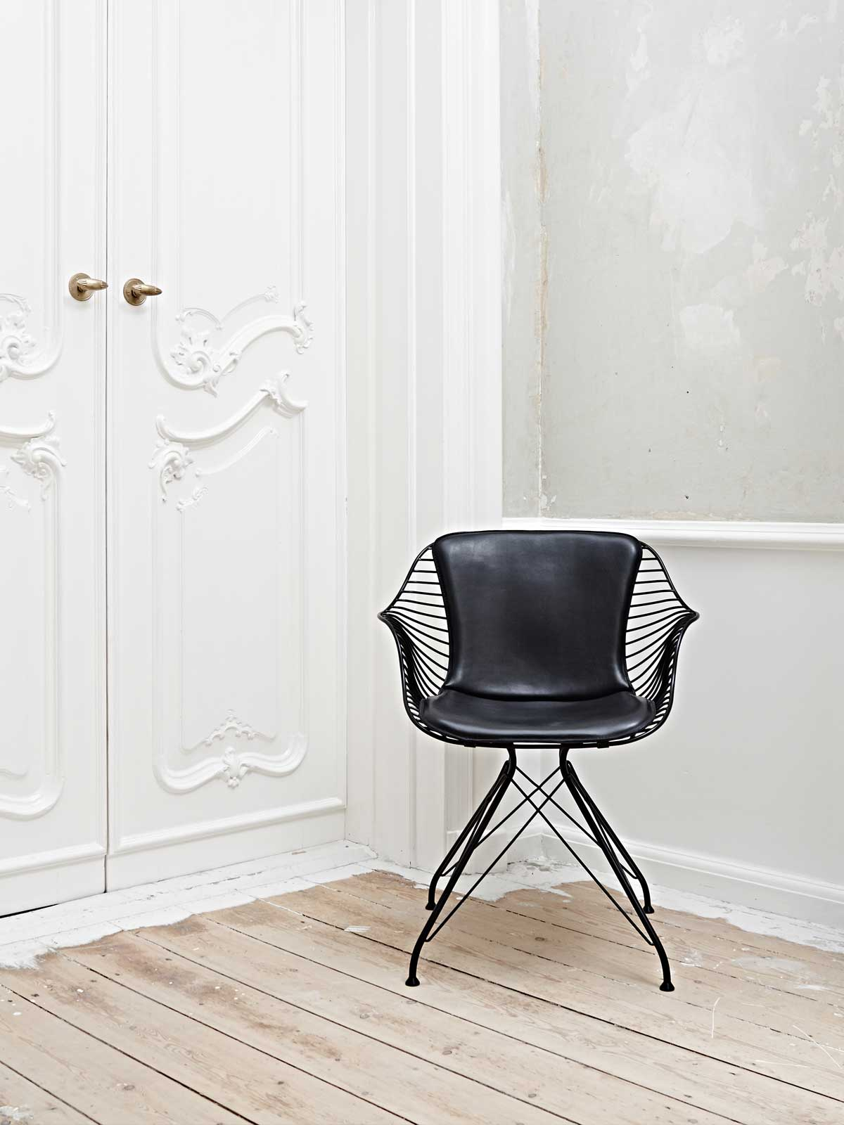 Wire Dining Chair by Overgaard & Dyrman | Yellowtrace