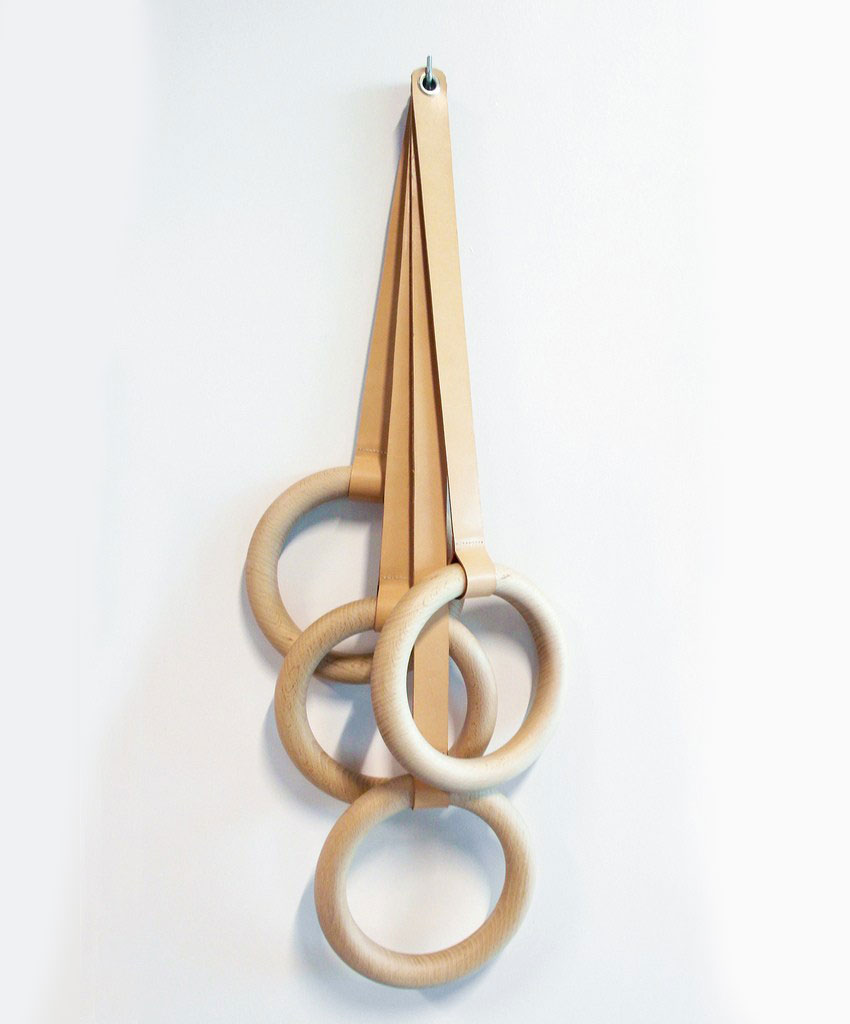 Olympic Wooden Coat Rack by Eno Studio | Yellowtrace