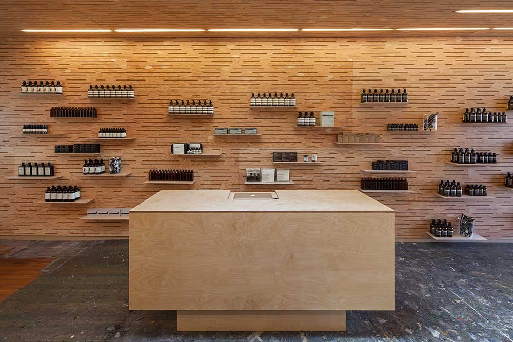 Gallery Post // Aesop Store in LA Abbot Kinney.