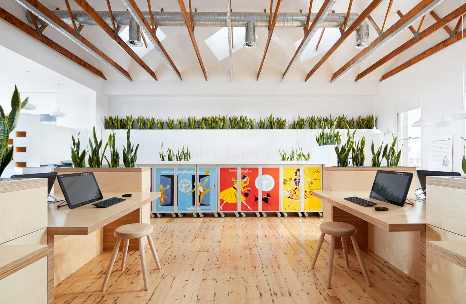 Gallery Post // Birkenstock HQ by Melbourne Design Studios.
