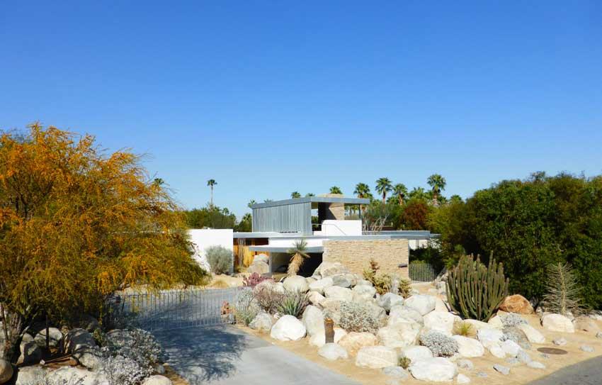 Richard Neutra's Kaufmann Desert House. Palm Springs Modernism Week 2014 | Yellowtrace