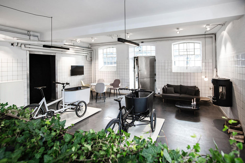 Butchers and Bicycles Copenhagen Showroom | Yellowtrace