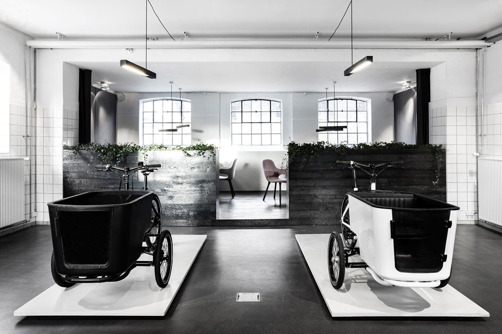 Butchers and Bicycles Copenhagen Showroom | Yellowtrace