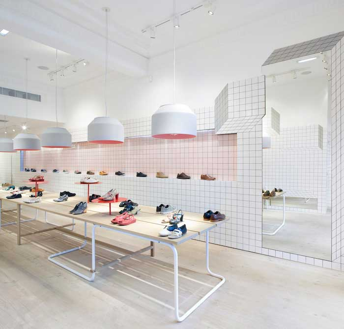 Gallery Post // Camper Store in Glasgow by Tomás Alonso.