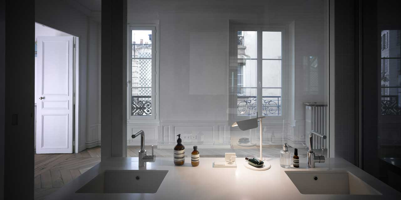 Apartment renovation in Paris by Cut Architectures   Yellowtrace