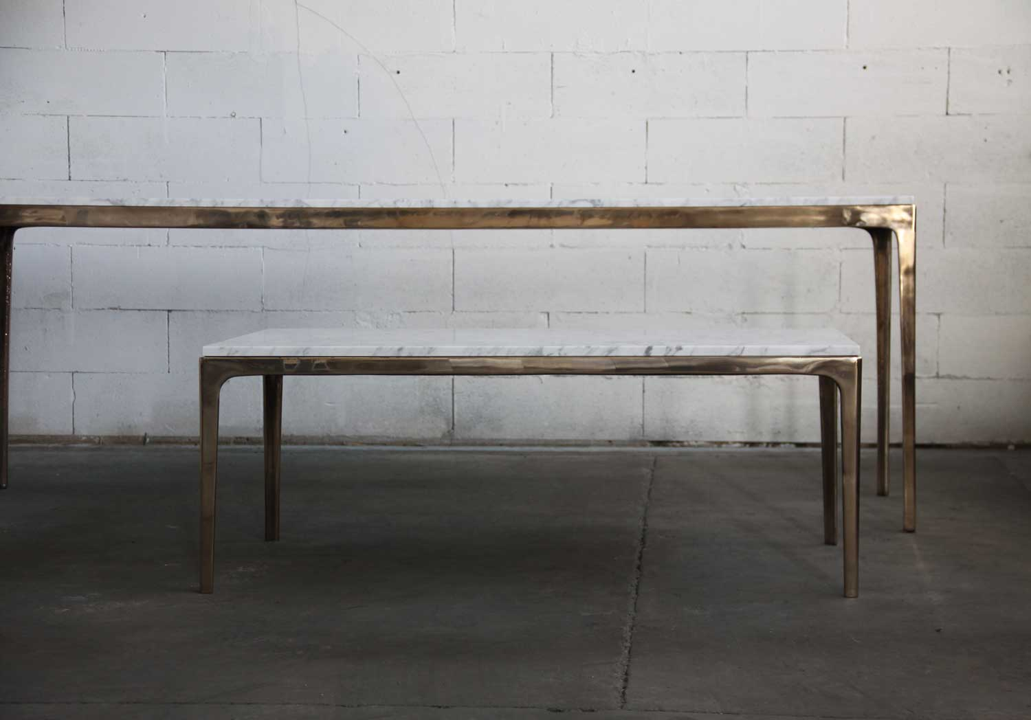 Daniel Barbera Bronze Table Square | Yellowtrace