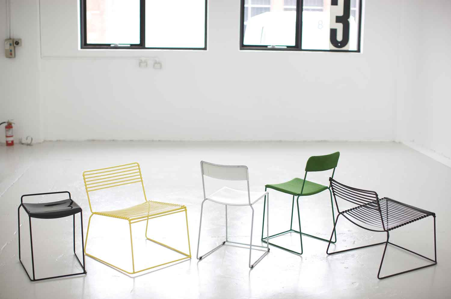 Daniel Barbera Uccio Chairs Low | Yellowtrace