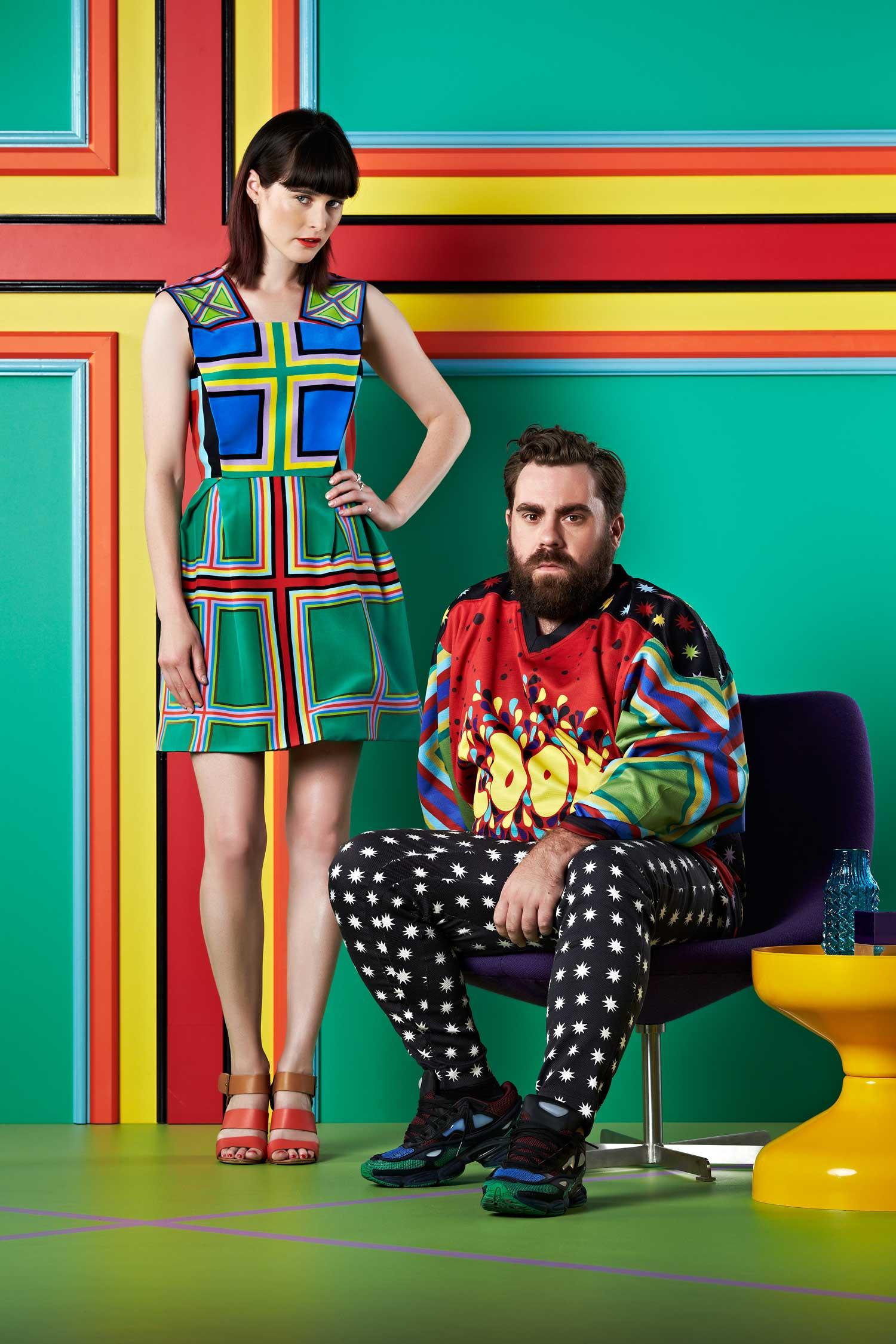 Dulux interior collaboration with Australian fashion designers   Yellowtrace