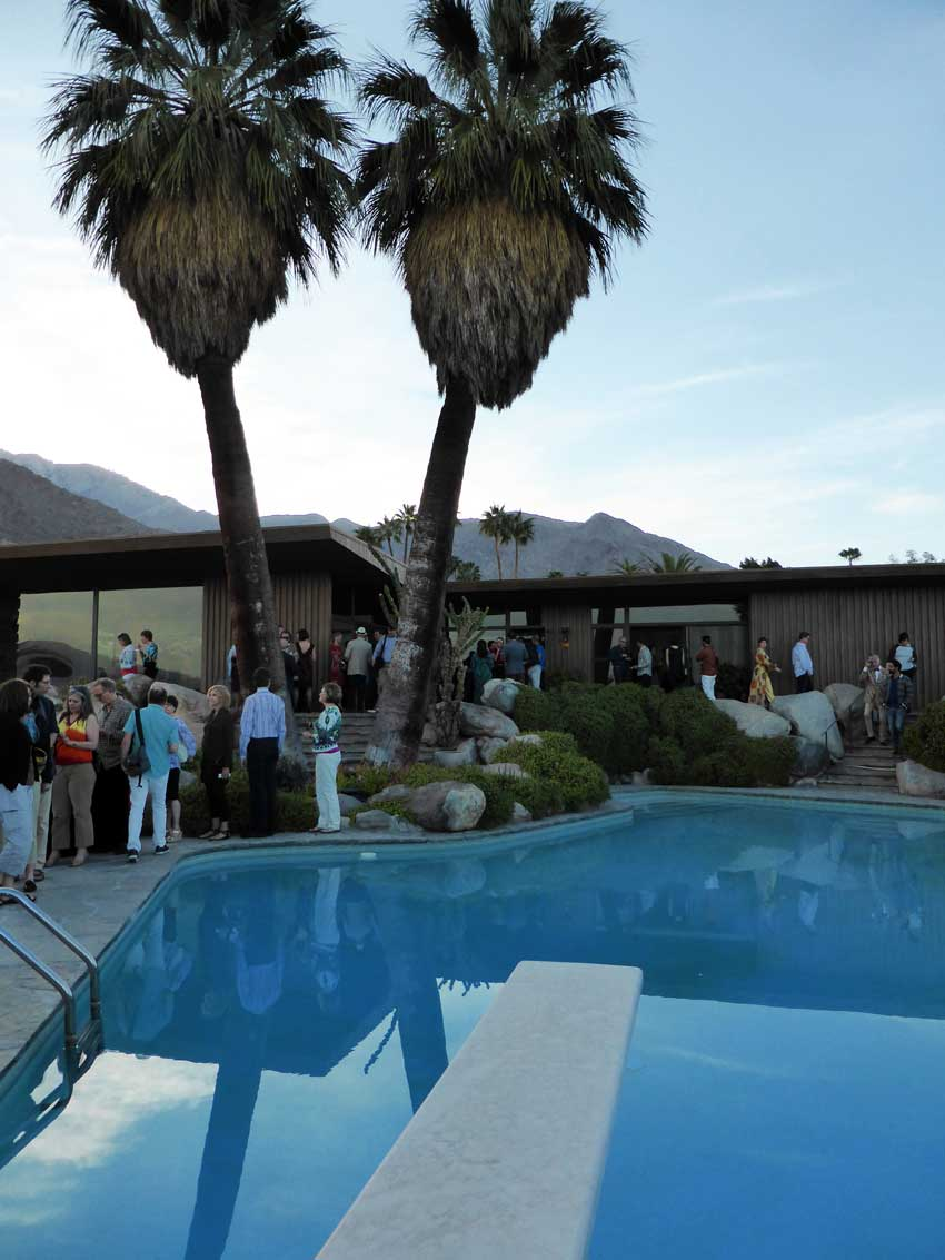 Edris House. Palm Springs Modernism Week 2014 | Yellowtrace