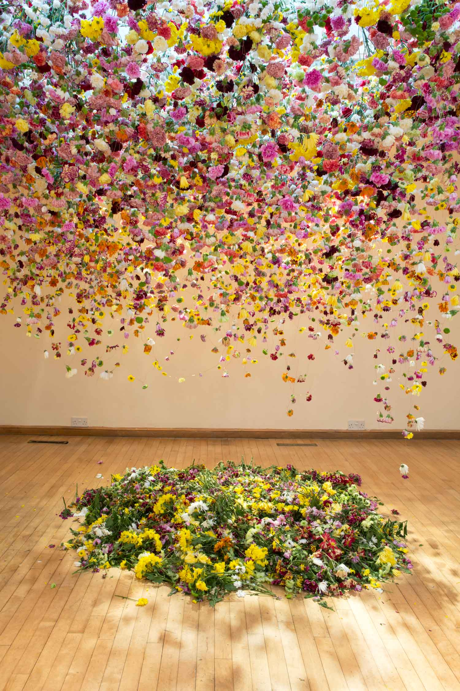 Floral Art by Rebecca Louise Law, The Hated Flower 2014 | Yellowtrace