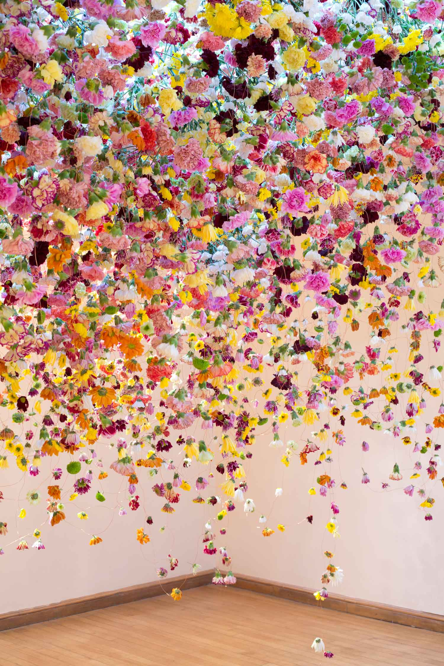 Spectacular Floral Installations by Rebecca Louise Law.