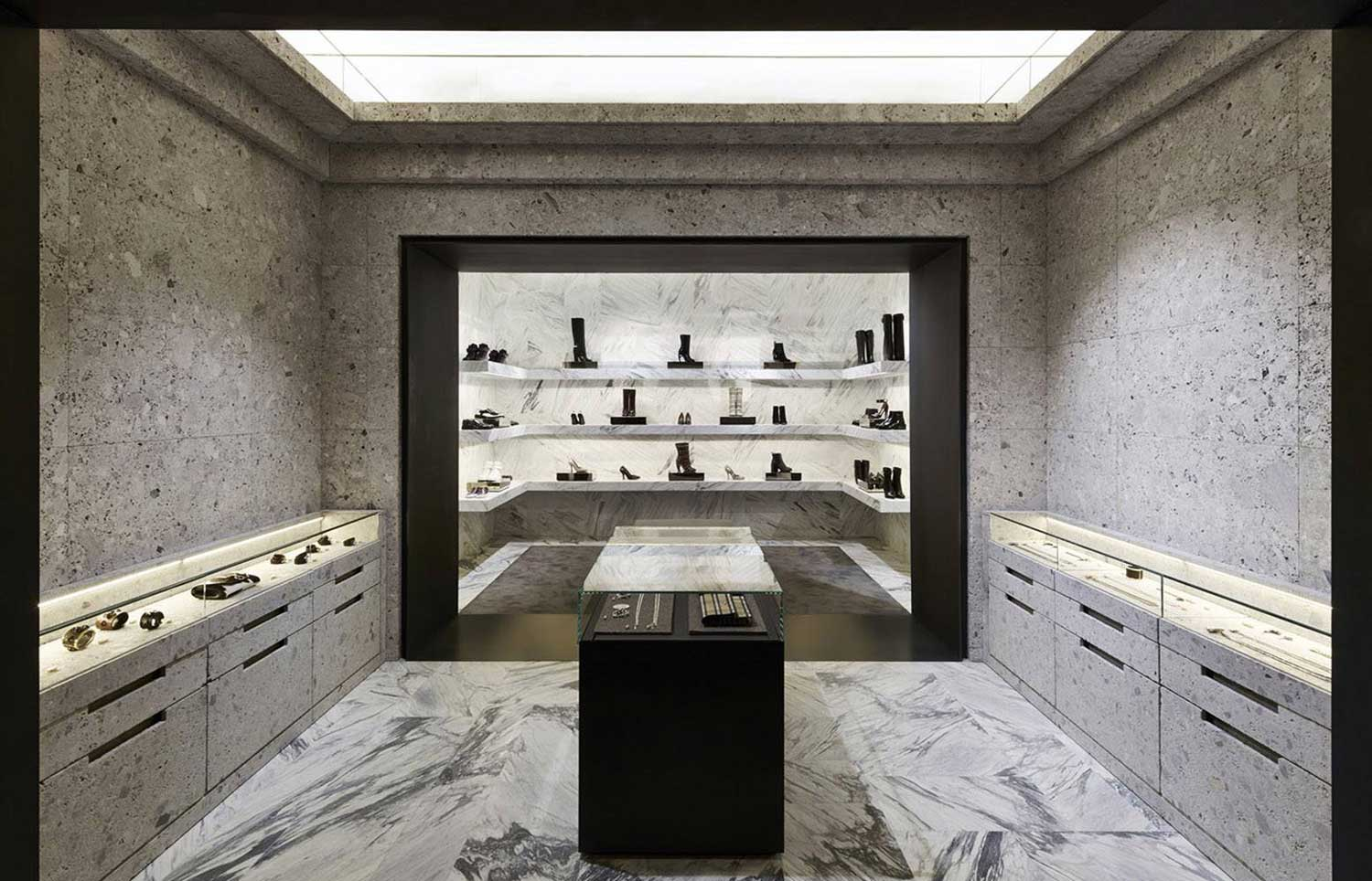 Givenchy Store in Paris by Joseph Dirand | Yellowtrace.