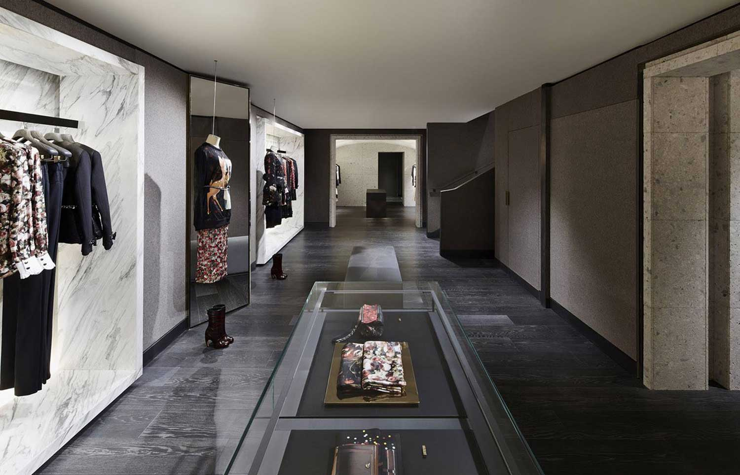 Givenchy Store In Paris By Joseph Dirand Yellowtrace