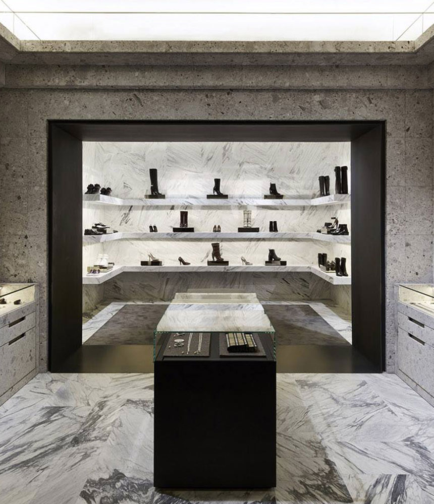 Givenchy Store in Paris by Joseph Dirand | Yellowtrace