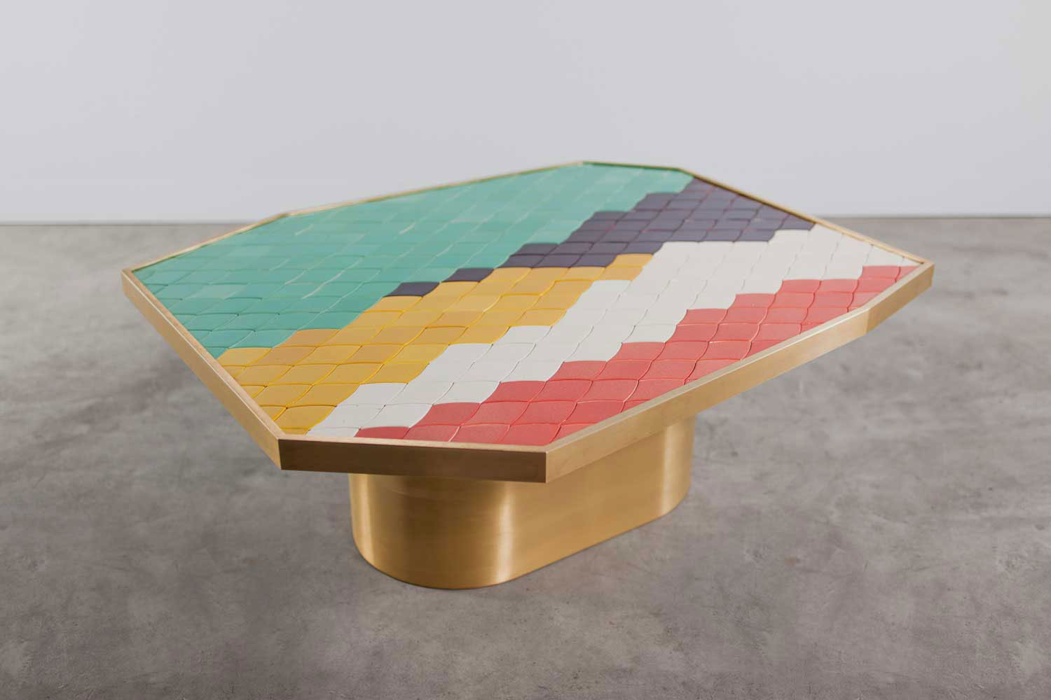 Landscape Table 4 by India Mahdavi at Design Days Dubai | 2014 | Yellowtrace