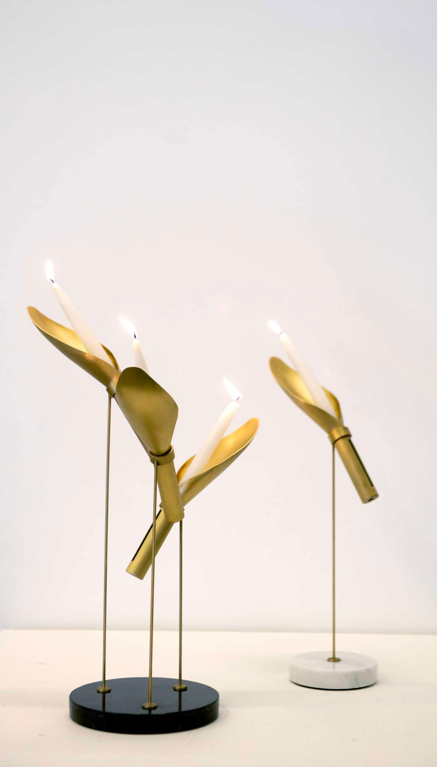 Karim Chaya for Spockdesign, Triplette, Simplette, Oblique at Design Days Dubai 2014   Yellowtrace