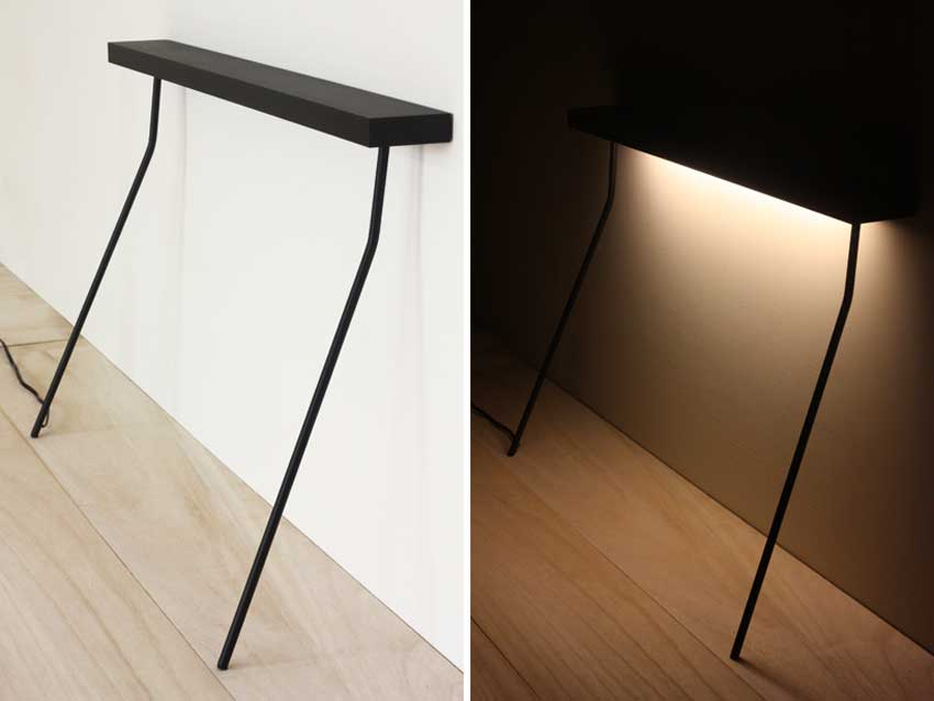 Leaning Light Table by Yenwen Tseng | Yellowtrace