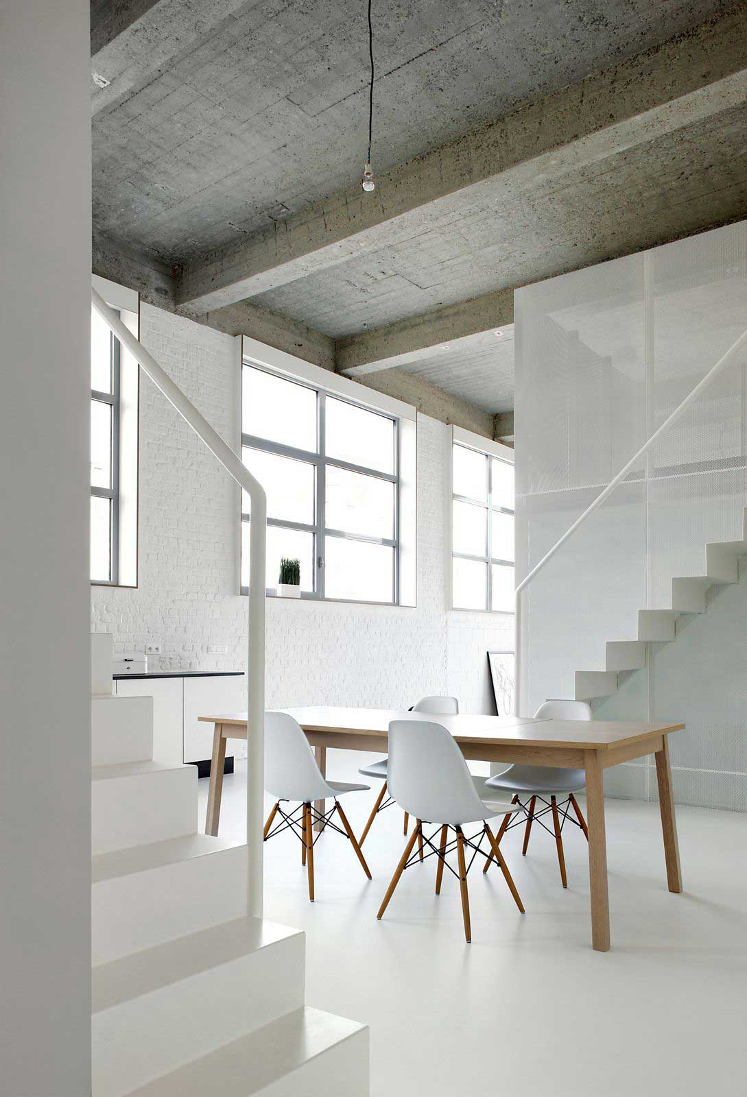 Loft FOR by adn Architectures // Brussels, Belgium.