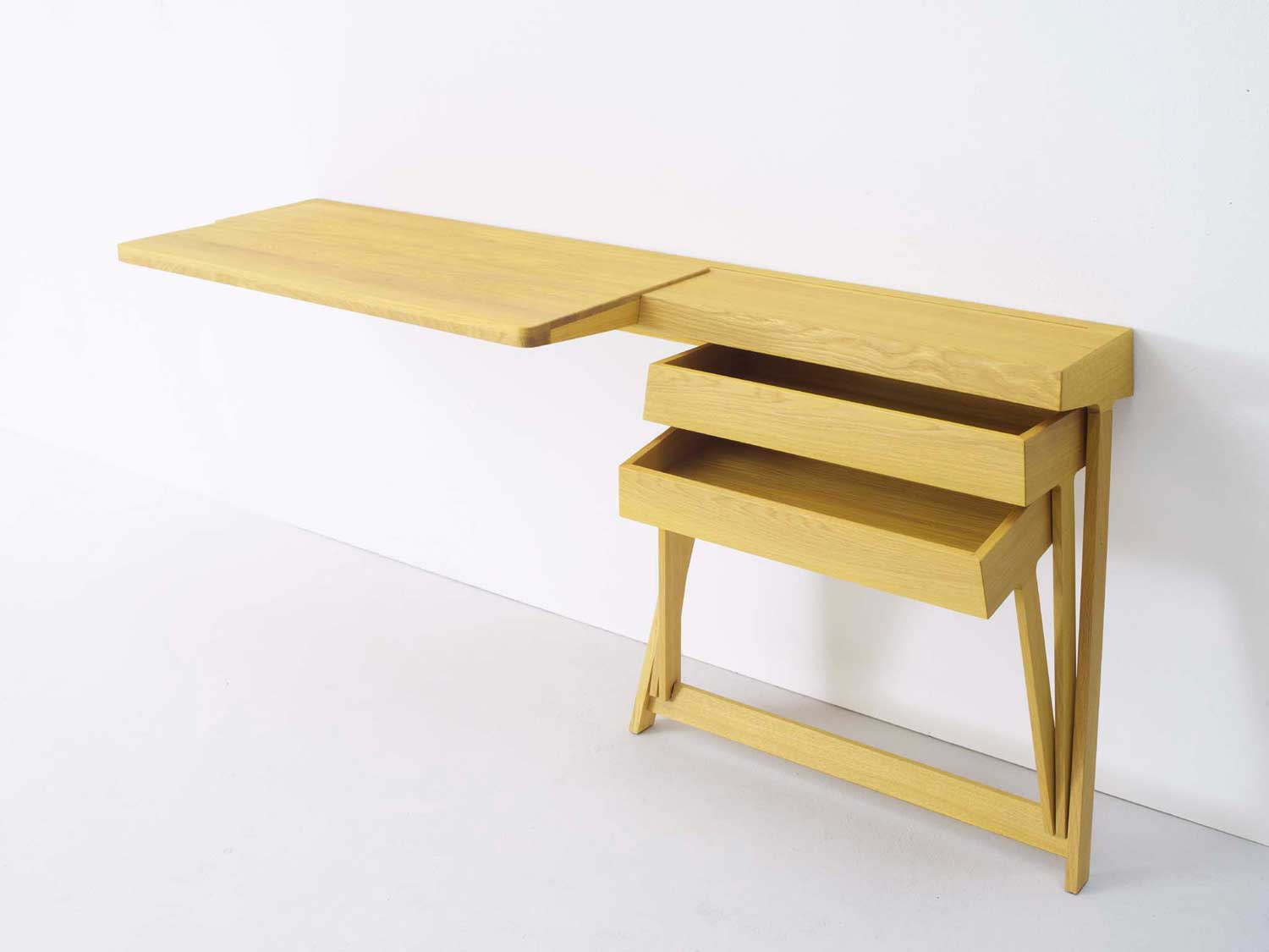 Pivot Desk and Vanity by Shay Alkalay for Arco | Yellowtrace