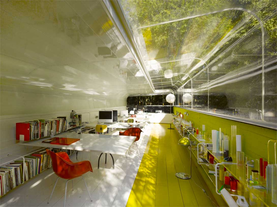 Selgas Cano Offices By Selgas Cano Architects | Yellowtrace