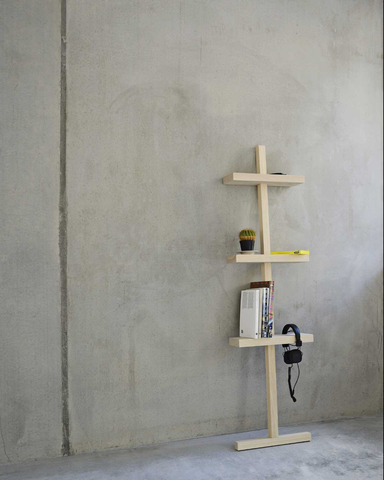 Stilt Shelf by Makers with Agendas | Yellowtrace