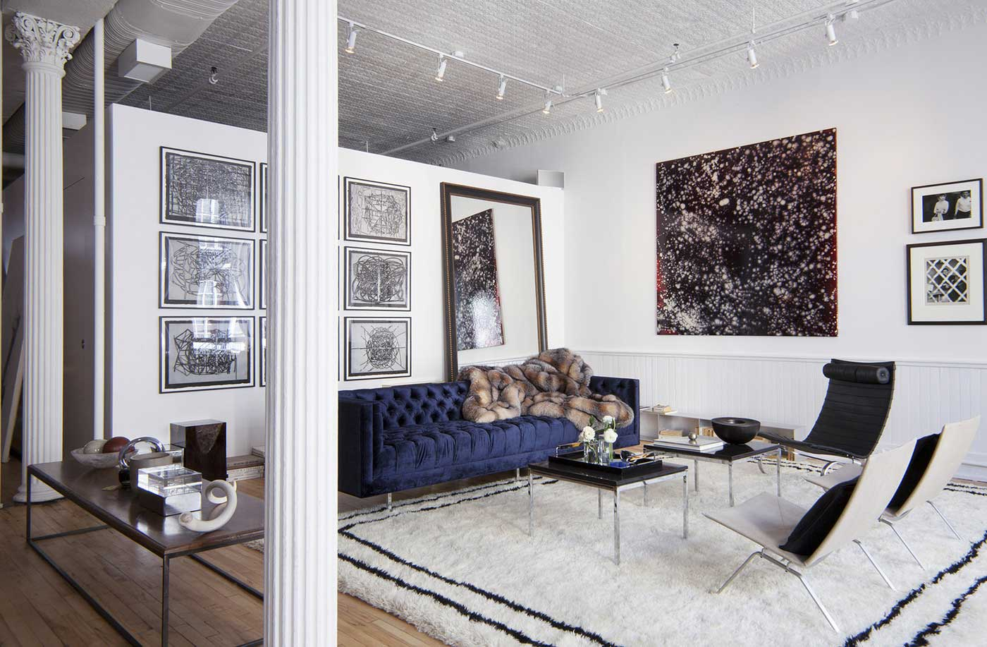 The apartment nyc by the line yellowtrace for Sofas in nyc