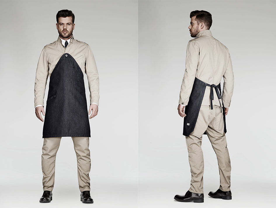 The Jane Restaurant in Antwerp, Staff Uniforms by G-Star RAW   Yellowtrace