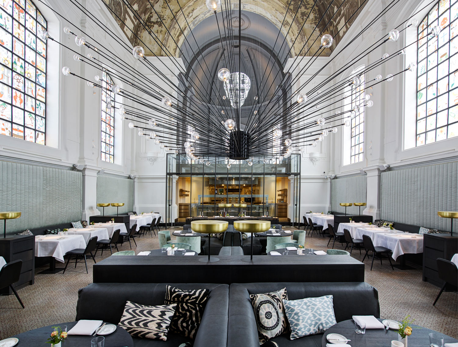 The Jane Restaurant in Antwerp // Divine Fine Dining by Piet Boon.