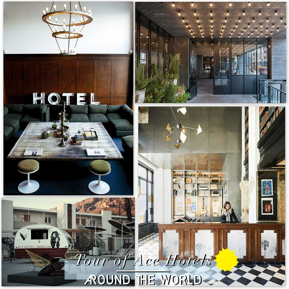 Tour of Ace Hotels Around The World | Yellowtrace