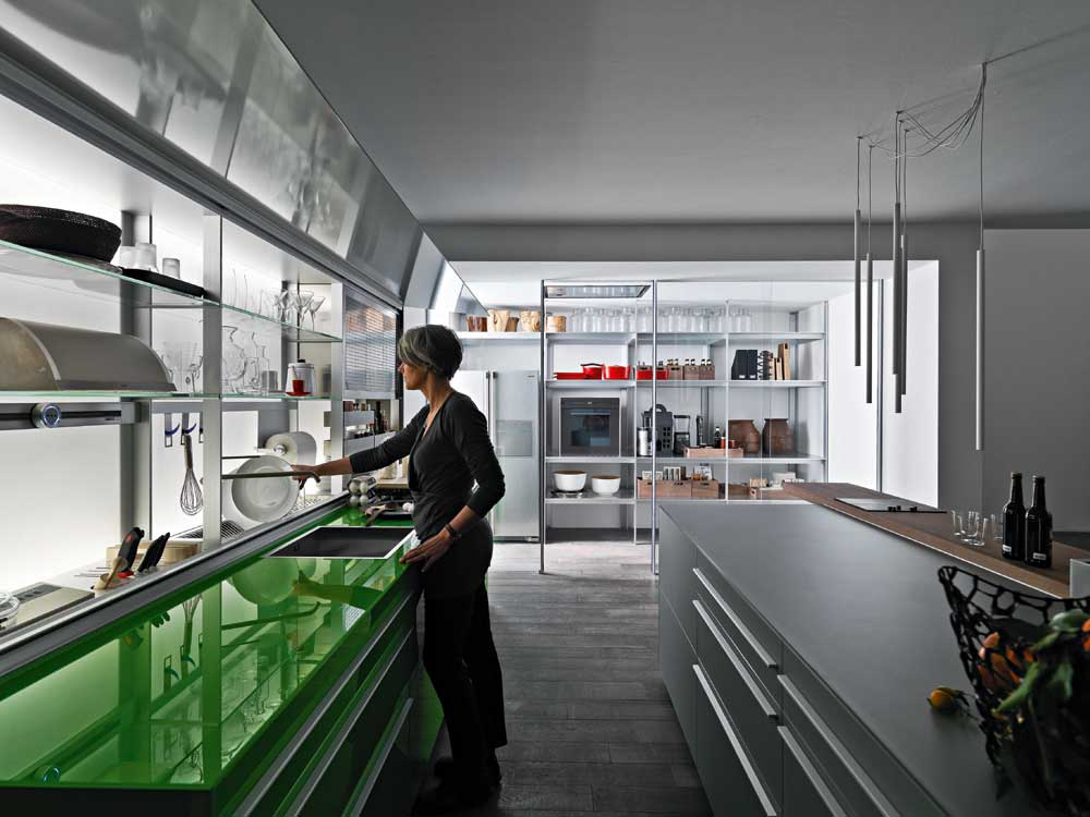 Valcucine Italian Kitchens at Rogerseller | Yellowtrace