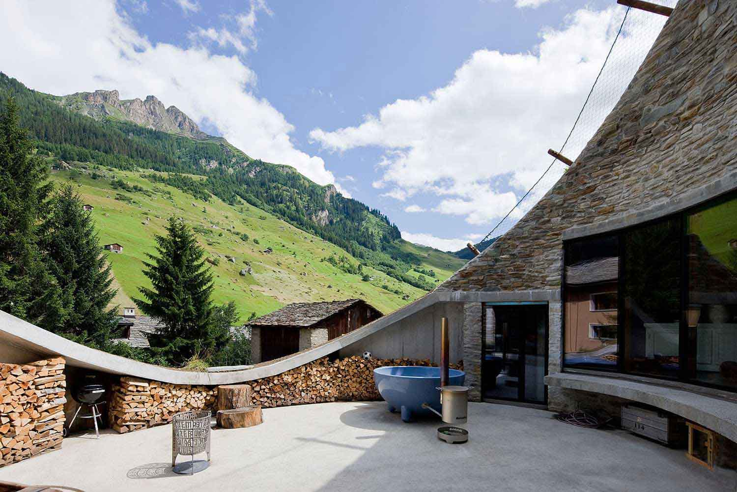 Villa Vals by SeARCH & CMA  Architects | Yellowtrace