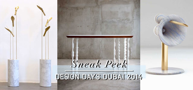 Design Days Dubai 2014.