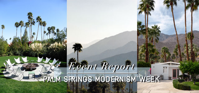 Palm Springs Modernism Week 2014.