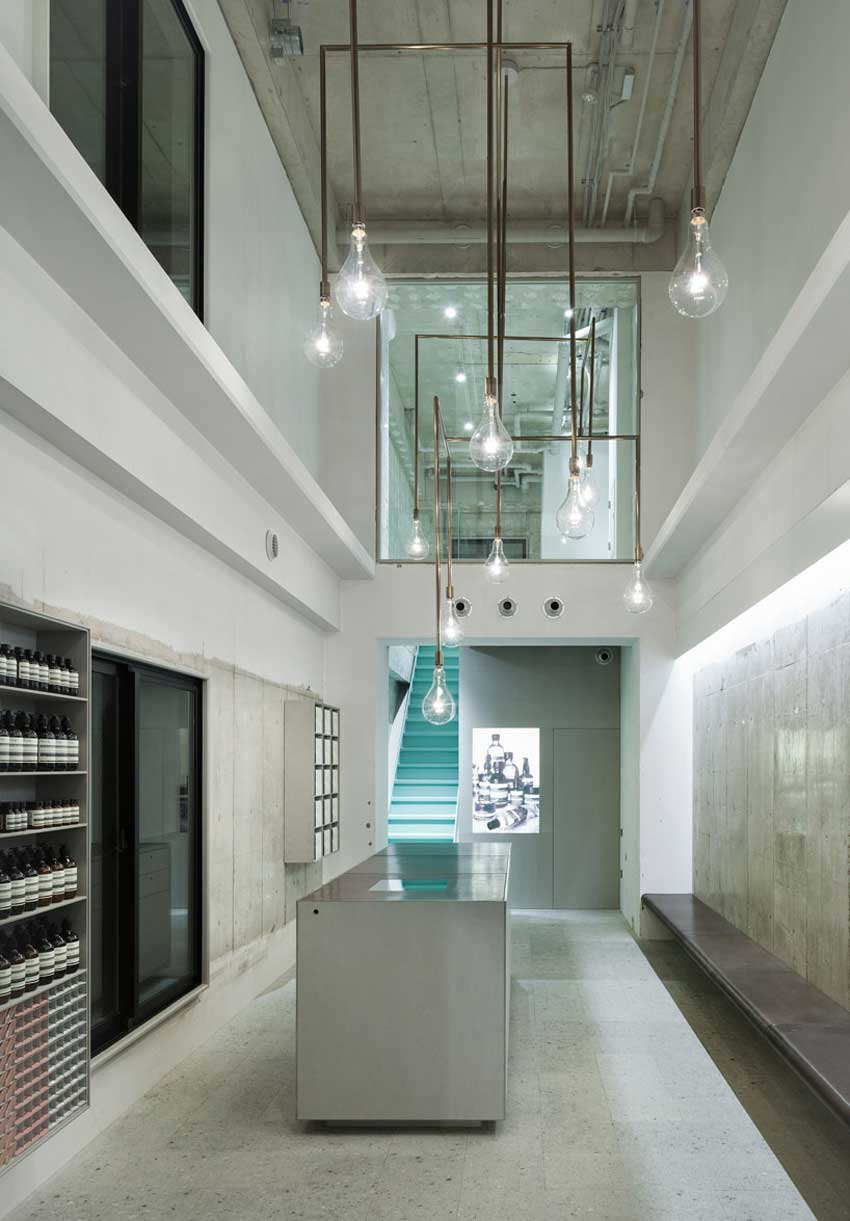 Gallery Post // Aesop Store in Kyoto Kawaramachi.