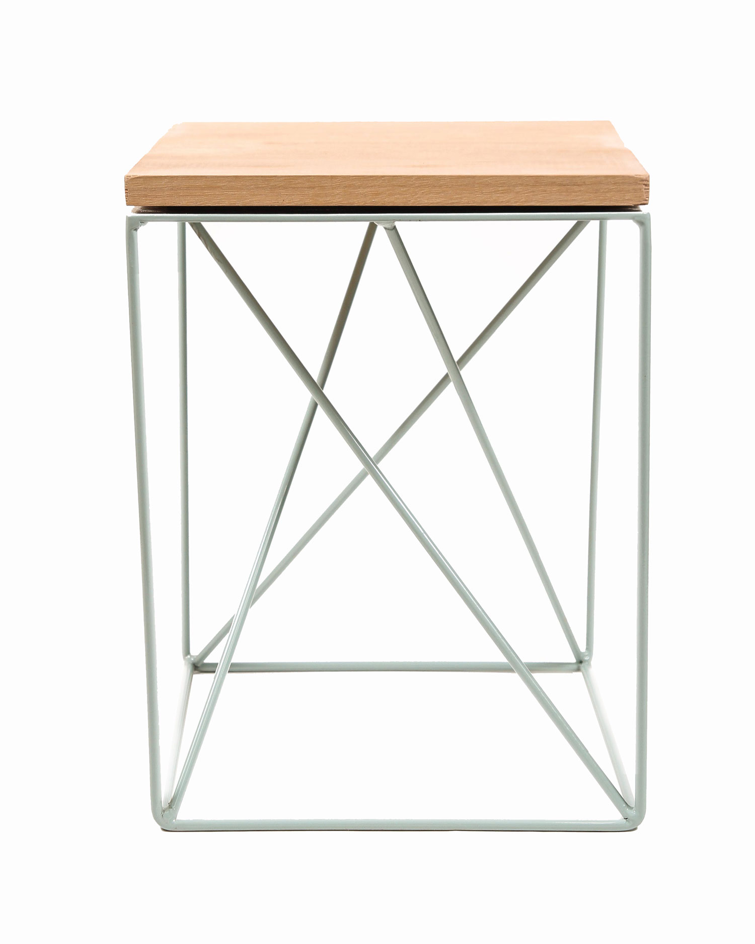 Alpha Stool & Little Italy Side Table by Red Fox & Wilcox | Yellowtrace
