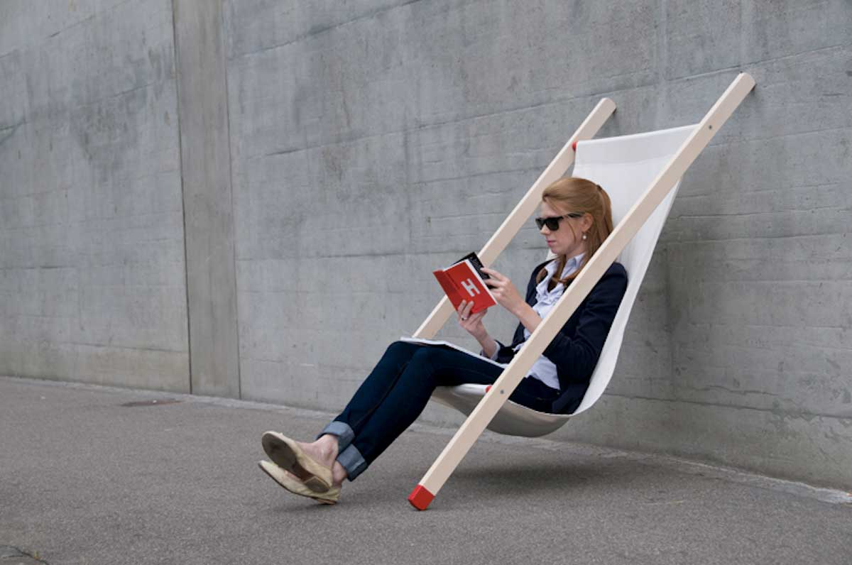 Curt deck chair by Bernhard Burkard | Yellowtrace